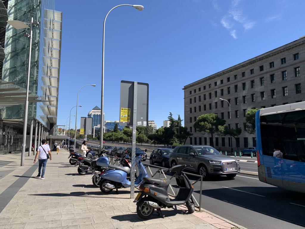 Movilidad en Madrid