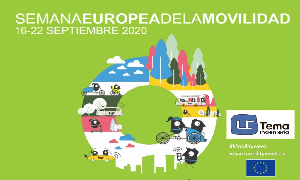Cartel de la Semana Europea de la Movilidad Sostenible 2020