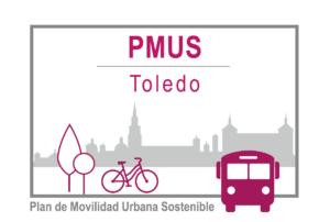Logo del Plan de Movilidad sostenible de Toledo